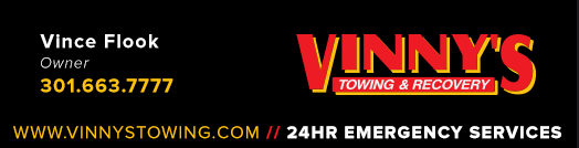 vinnys-towing-logo